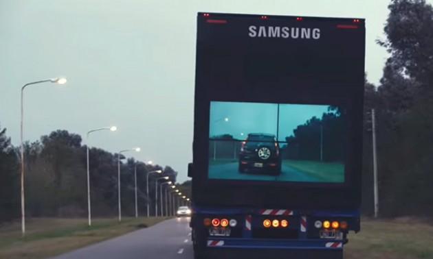 Tecnol›gica para sobrepasar camiones en las rutas