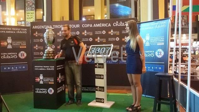 Trophy Tour de la Copa Am?rica Chile 2015