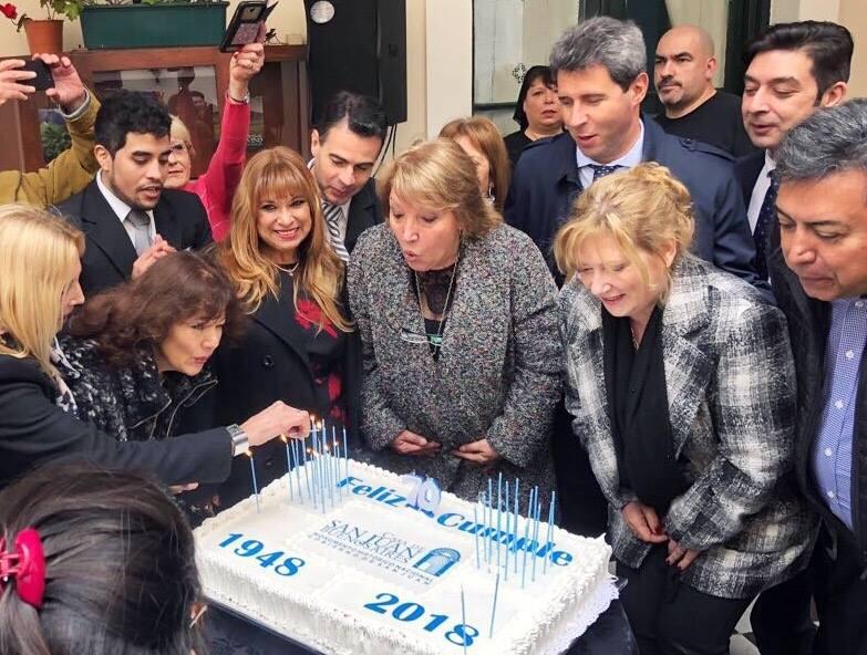 Celebracion Casa San Juan – Totems Digitales