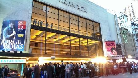 Teatro Gran Rex – Cartelera Doble