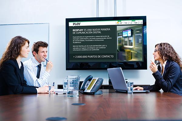 Empresas comunicaci›n interna y carteleria digital